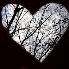 Branches in Heart Cutout