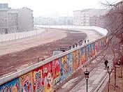 Wall West Berlin Side wGraffiti