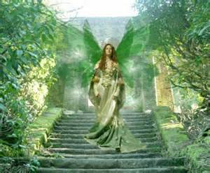 Titania Fairy Queen Green Nature