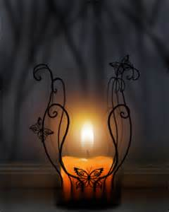 Candle and Wrought Iron