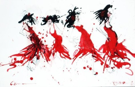Carmen by Ralph Steadman