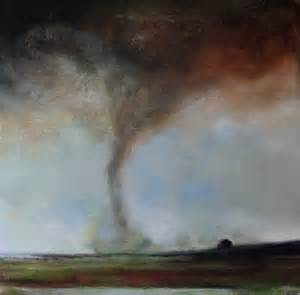Tornado Painting by Toni Grote