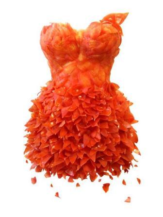Flower Dress Orange from Flower Story